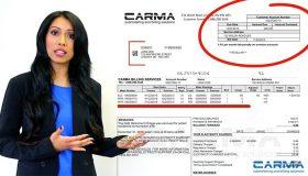 CARMA UNDERSTANDING YOUR BILL
